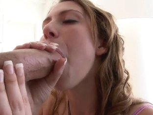 Young Aubrey Lee gets her pussy stretched by a humongous dick