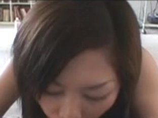 Perverted Japanese whore plays with a tiny dick