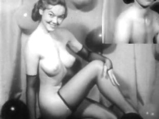 Stag Film 1950s KC Clarke fishnet