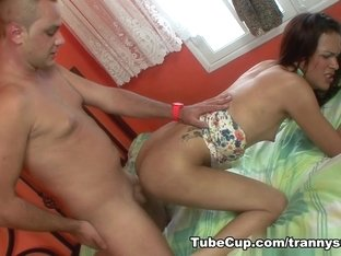 TrannySurprise - Double suction