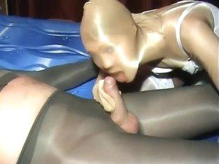 pantyhose encasement boots porno