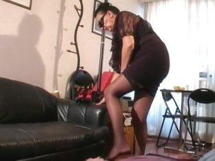 Outdoor mature stockings cumshots footjob heels b06
