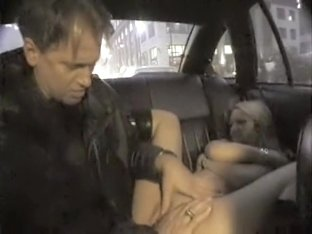 Hank Armstrong & Sindee Lou Hoo hot taxi & sofa sex from NY Taxi Tales 6
