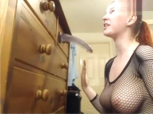 Bob1326: redhead bitch sucks silicone penis