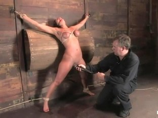 Charley Chase in her very first Hogtied shoot
