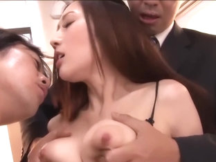 Japanese Busty Julia Boin - OnTrain-taken on train- 3x garter-SC3