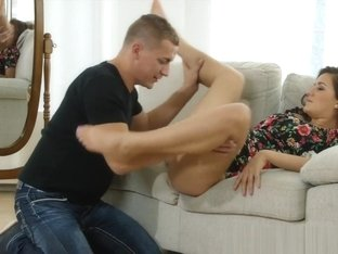 Danejones Doggystyle Couch Sex For Sweet Teen