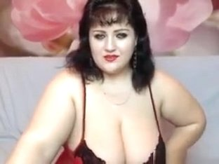 Bbw In Lingerie Teasing Her Body And Tits