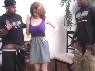 Spicy Abbey Rain got fucked in interracial XXX video