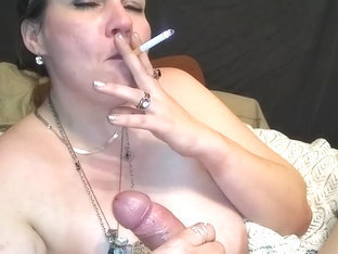 Accept. herself slut girl camera on mastubating while smoking taste what