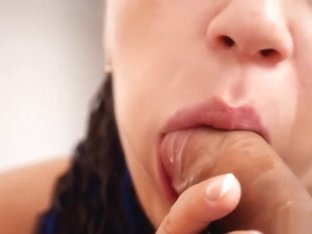 My Tasty Lips Suck this Big Cock! Cum Swallow! - Full Version