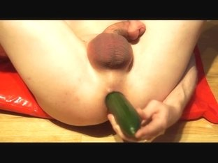 A selection of vegetables in my ass