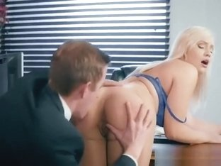New Secretary Kylie Page Gets Serviced By Boss