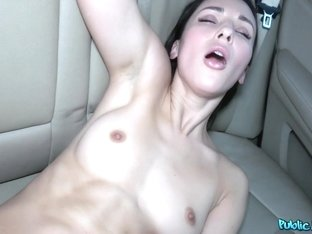 Lilu Moon & Martin Gun in Russian backseat fuck and blowjob - PublicAgent