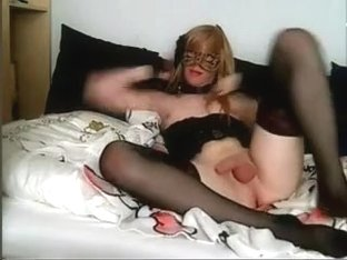 Fabulous Homemade Shemale video with Masturbation, Dildos/Toys scenes