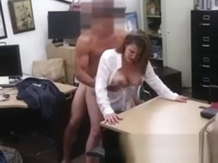 British amateur brunette big tits Foxy Business Lady Gets Fu