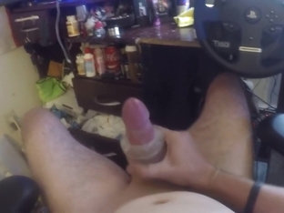 Closeup Fleshlight Cumshot of me