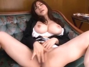 Crazy Japanese girl Anri Okita in Incredible Big Tits JAV video