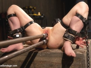 Juliette March in Pretty gets punished - double penetration and made to squirt into exhaustion - D.