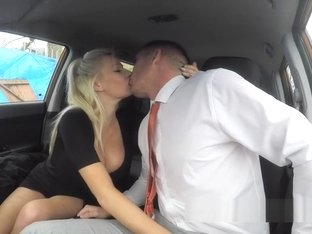 Monster Boobs Milf Bangs Examiner In Car
