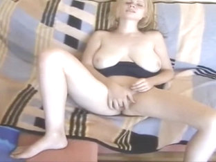 wife with saggy natural breasts, anal and facialized