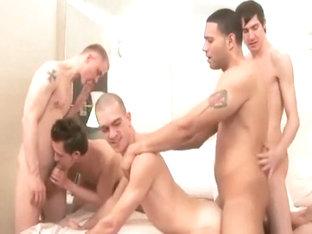 Sling gay gangbang mp4