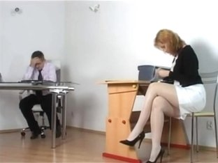 Kirsty Blue - Naughty Secretary getting punished by Boss