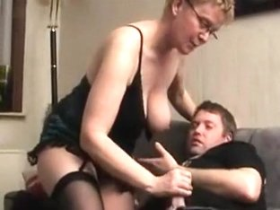 Short haired wife brings a horny stranger home and fucks him hard