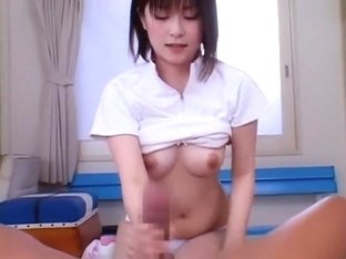 Exotic Japanese whore Ruru Amakawa in Fabulous Handjobs, Fingering JAV scene