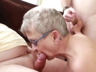 Young dude fucks my older wi...