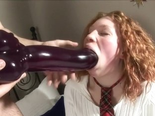 Curly Redhead Ninelly Anal Fist
