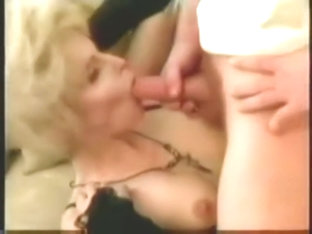 Vintage shemale sucks gets fucked then