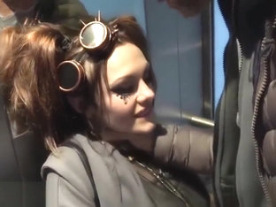 EvilAngel Rough Facefuck in Public Elevator and Anal Punishment. Full video: bit.ly/2OSyxzk