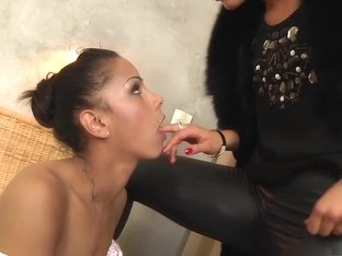 Winner cock for dinner forced bi blowjob