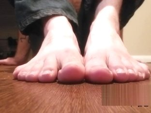 Dirty Foot Worship JOI With Cum Countdown