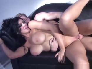 Romi Rain Gets Fucked On The Couch