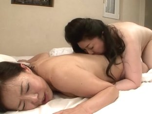 Incredible Japanese whore in Horny Mature, Lesbian JAV movie