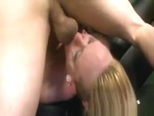 Caroline Cross Shocking Nasty Throat Sex