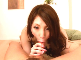 Kinky Ria Kotone loves the taste of cock