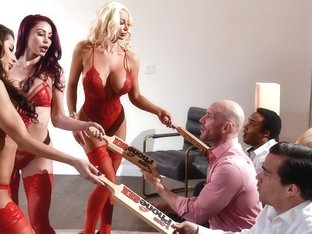 Madison Ivy & Monique Alexander & Nicolette Shea & Johnny Sins in 1 800 Phone Sex: Line 8 - Brazze.