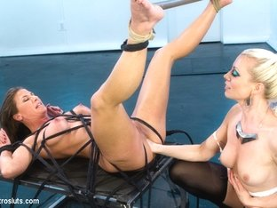 Lorelei Lee  Ariel X in Ariel X Attempts A Fist Size Electroplug In Her Ass - Electrosluts