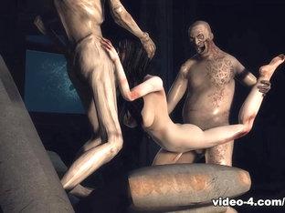 Hardcore filmy porno z gangbangiem
