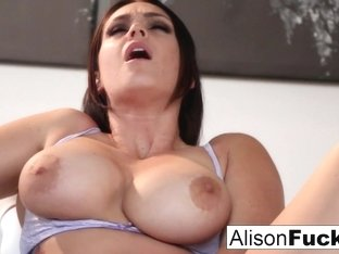 Alison Tyler in Amazing Alison Rubs Herself To A Sexy Conclusion - AlisonTyler