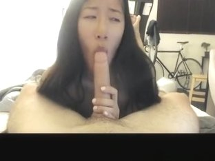 Hottest private blowjob, glasses, lipstick sex video