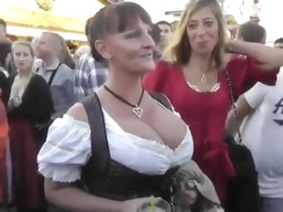 German boobs on the october fest