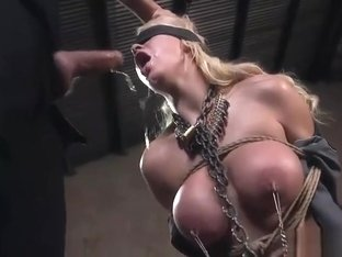 BDSM Big tits and facefuck