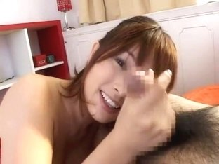 Horny Japanese girl Chinatsu Abe in Fabulous Handjob, POV JAV video