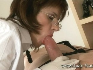 Visitor Made To Cum Twice - LadySonia