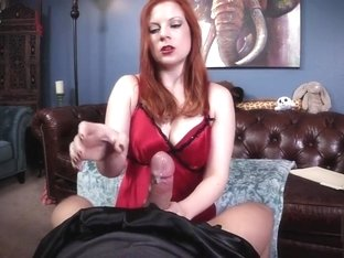 Mommy Issues! Satin Therapy Handjob Lady Olivia Fyre Femdom POV milf