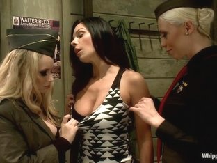 Fabulous fetish, lesbian adult scene with exotic pornstars Aiden Starr and Kirsten Price from Whip.